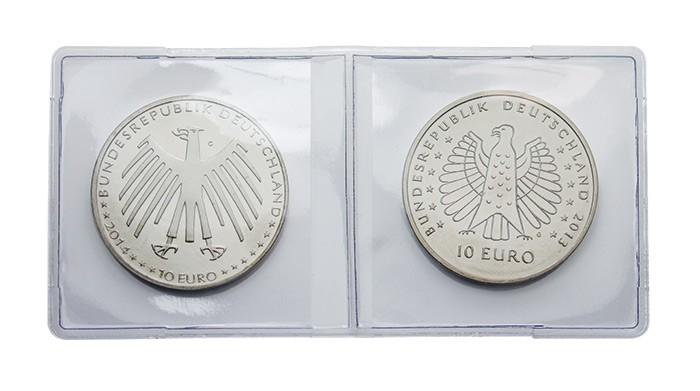 Herforder Münzhandel Münzenzubehör Münzhüllen Lindner