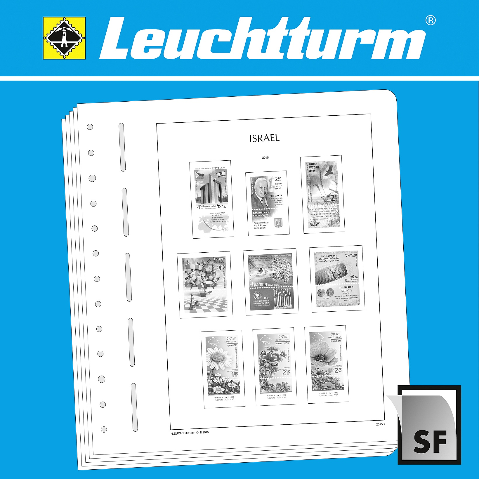 Stamp Albums Collectible Display & Storage LIGHTHOUSE SF